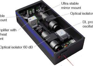 TOPTICA AG - TA pro MOPA系统设置:紧凑而稳定。